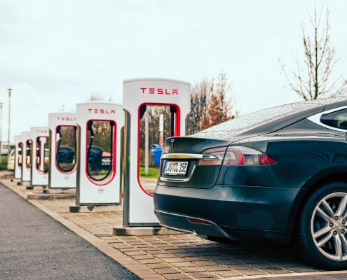 Electric Vehicle Car Charging Stations for Tesla