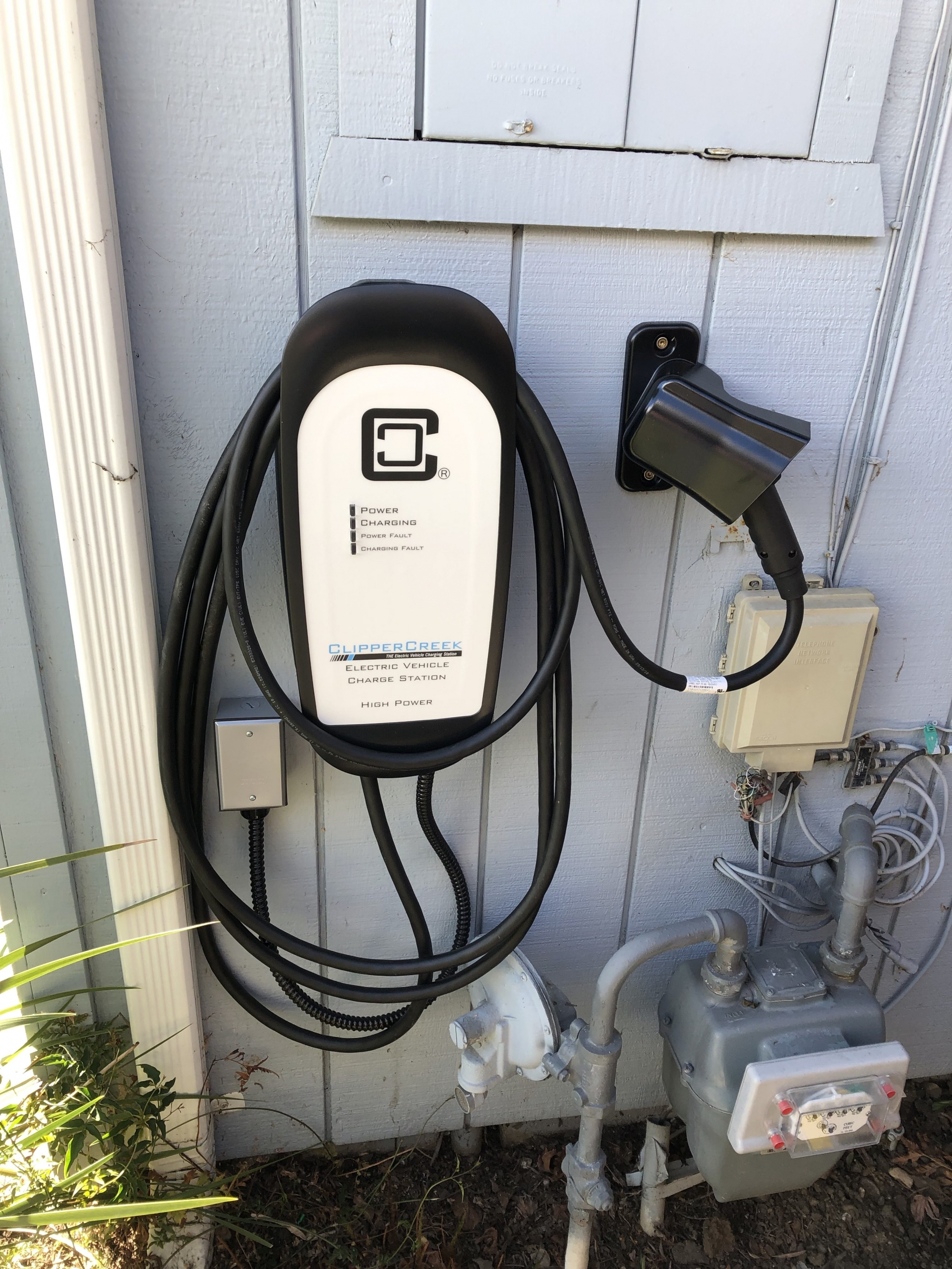 Outdoor EV Charging Station
