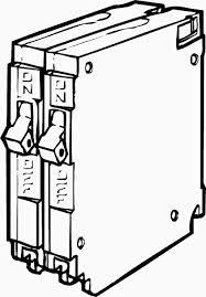 breaker box anatomy - circuit breakers