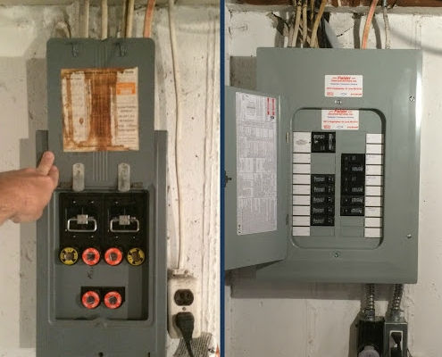 cost to replace electrical panel