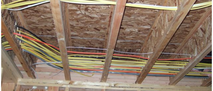 how to rewire a house without removing drywall - new wiring