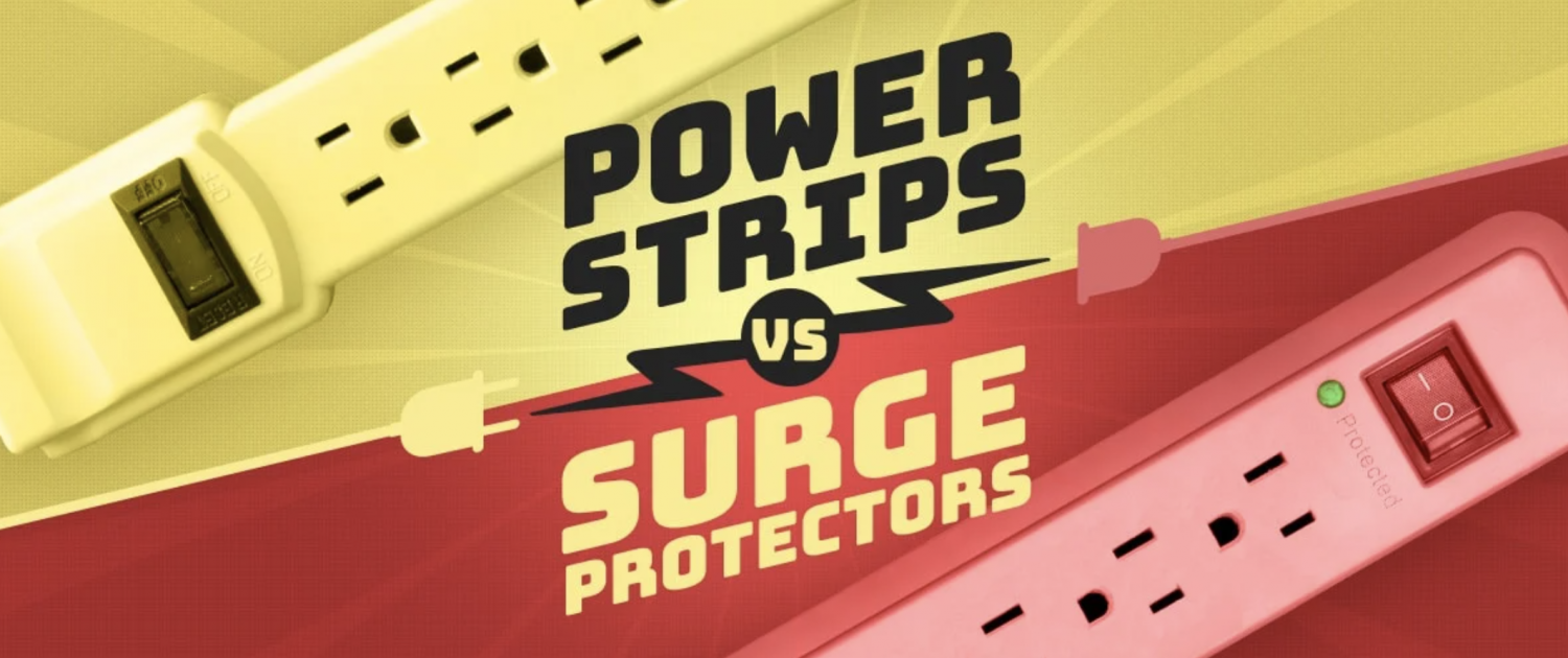 surge protector vs power strip