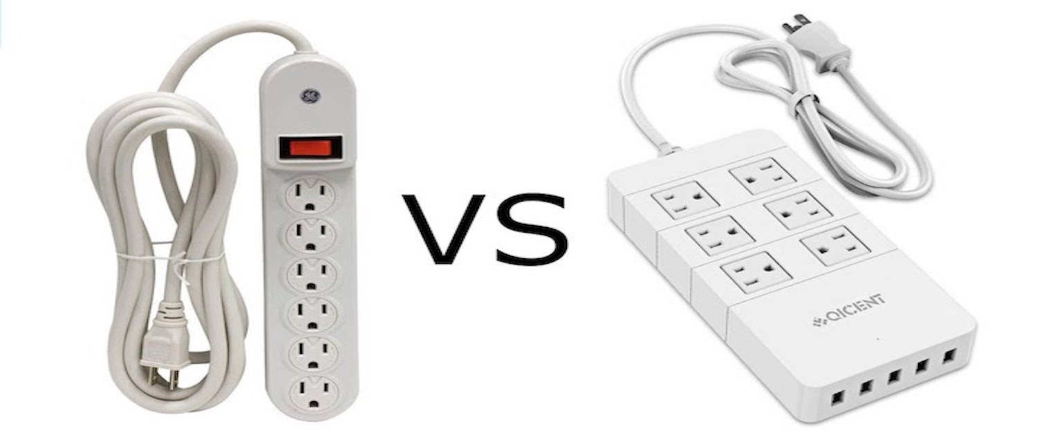 surge protector vs power strip - functionality