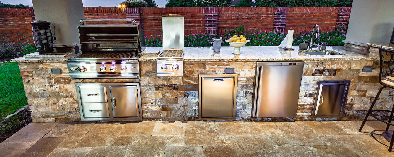 kitchen with outdoor wiring