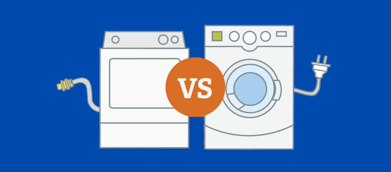 cost of gas vs electric dryer