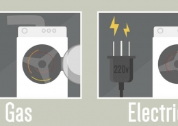 gas vs electric dryer features