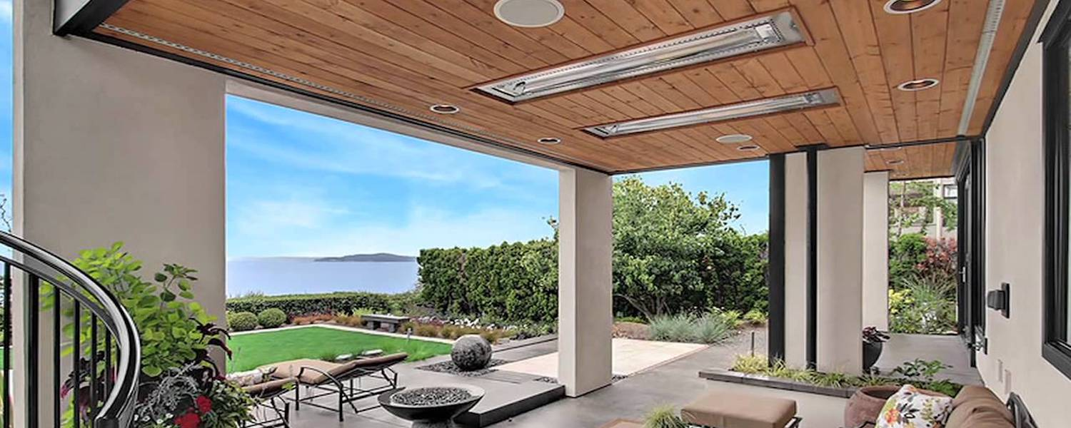 infrared outdoor electric heater