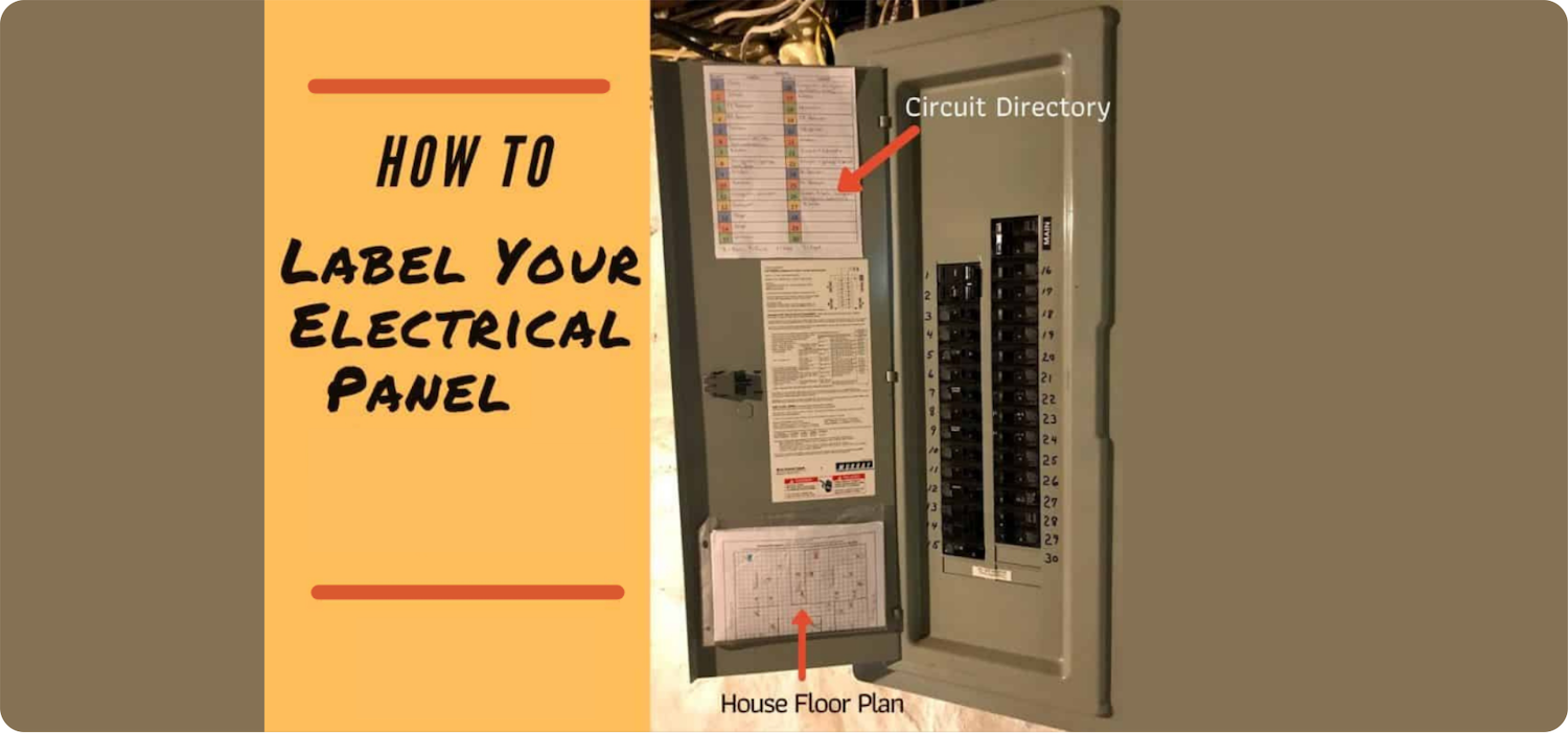 how to make electrical panel labels