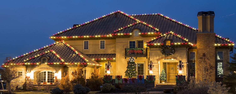 roof christmas light ideas