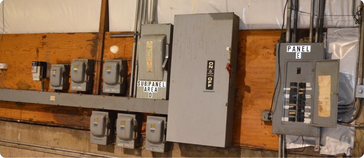 commercial electrical sub panel