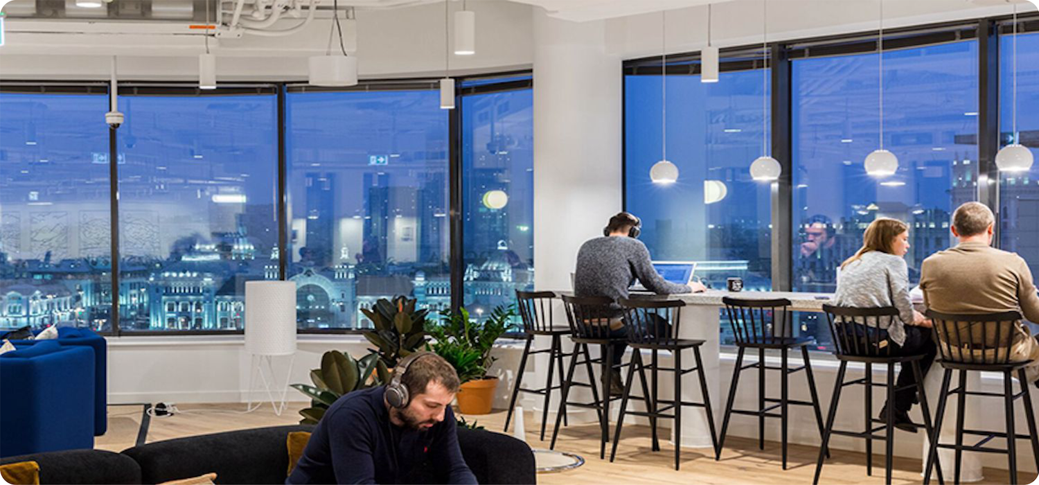 office lighting for productivity