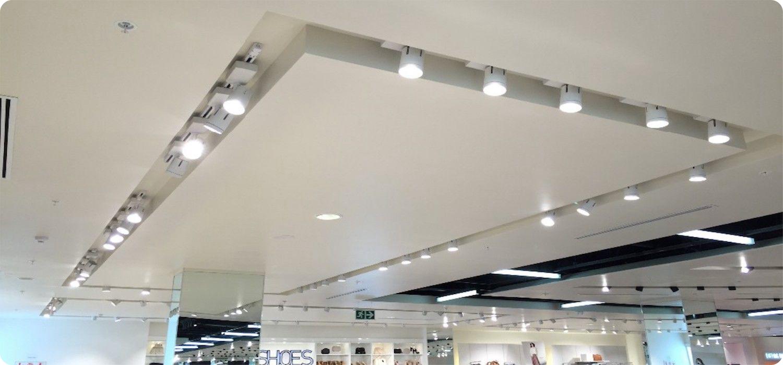 troffer commercial led lighting