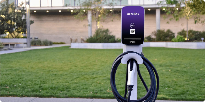 enel x ev charging station