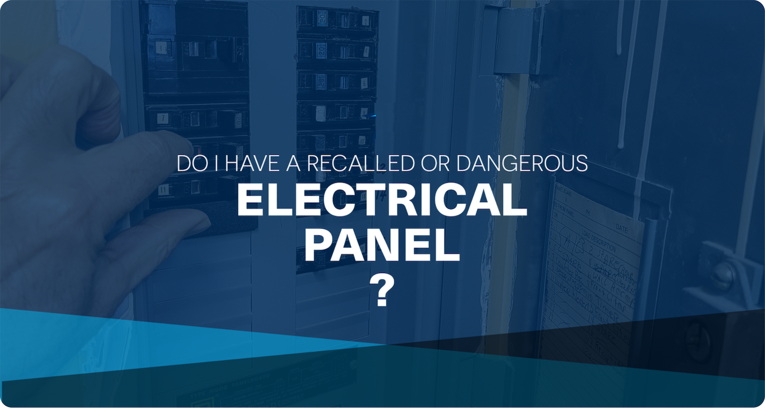 recalled electrical panels
