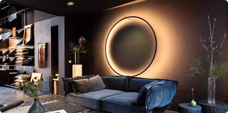 wall light artwork